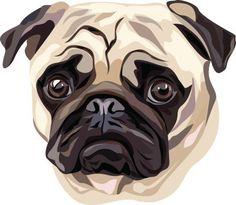 Cachorro - ilustração de arte em vetor