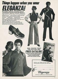 Things happen when you wear ELEGANZA! (1973)