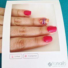 Tonails @apptonails Oha como a @olivi...Instagram photo | Websta (Webstagram)
