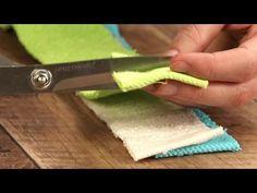 Trocken und weich: So wird aus 3 Handtüchern ein toller Duschvorleger. - YouTube