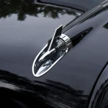 Who can name this hood ornament? They started out as devices called motormeters. They were thermometers built into the radiator cap to monitor engine temperature.