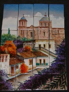 14 Best Murals Images Tile Murals Wall Tile Mexican Tiles - Delightful-art-on-tiles-by-okhyo