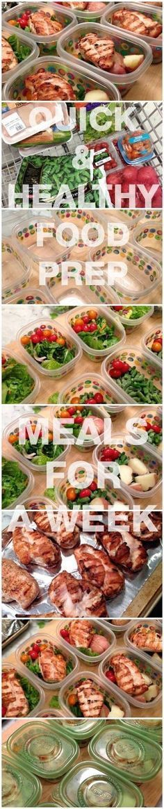 Quick & Easy Meal Prep for Weightloss and Clean Eating (easy meal ideas work lunches)