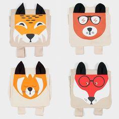 Fun animal backpacks for kids
