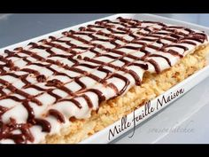 Mille Feuille (Franse tompouce) - YouTube