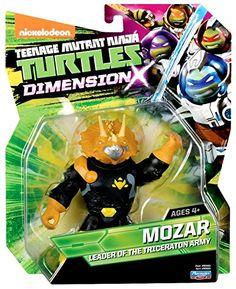 Amazon.com: Teenage Mutant Ninja Turtles Mozar Figure: Toys & Games