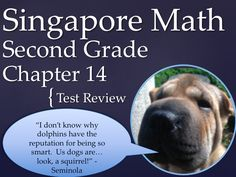 Math in Focus  Singapore Math 2nd Grade Chapter 14 Test Review (7 pages). This is a test review for the Singapore math program. It is for the second grade's Chapter 14.   The problems are very similar to the ones on the test, just the numbers and wording have changed. For each problem on the test, there are two or three practice problems.   It can also be used as an assessment. by Ryan Nygren