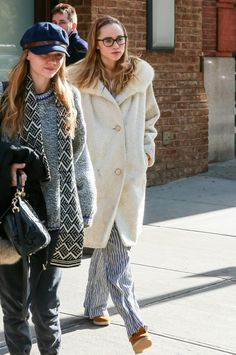 Suki and Immy Waterhouse Spend the Day Together
