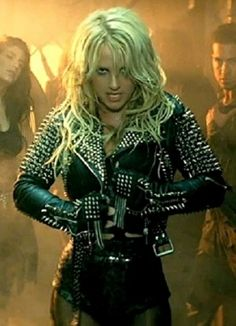Britney Spears Wears Spiked Jacket In Till The World Ends Song