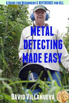 """Read """"Metal Detecting Made Easy: A Guide for Beginners and Reference for All"""" by David Villanueva available from Rakuten Kobo. Metal detecting is a very rewarding hobby in more ways than one. Just swinging a detector on a warm sunny day in pleasan. Magnet Fishing, Fishing Tips, Fishing Tackle, Fishing Rod, Underwater Metal Detector, Metal Detecting Tips, Garrett Metal Detectors, The Twits, Gold Prospecting"""