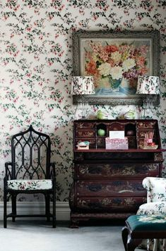 East And West In The Bedroom | Pinterest | Toile Wallpaper, Toile And  Interiors