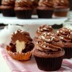 Chocolate Mascarpone Cupcake