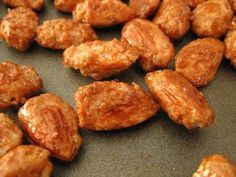 Burnt Sugar Almonds- Sometimes you can't wait for the German Christmas Markets :)