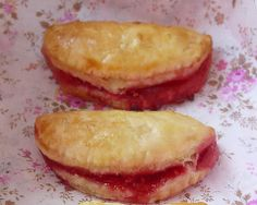 Minis chaussons pommes-framboises