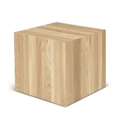 Table basse carrée en chêne Block - Tables basses et consoles - Alinea