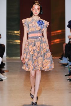 Tsumori Chisato Spring 2014 Ready-to-Wear - love the style and color just needs to be a bit longer