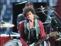 Bob Dylan - Across The Borderline (Live at Farm Aid 1986) - YouTube