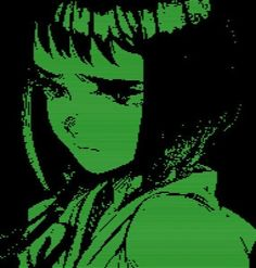 Find images and videos about aesthetic, anime and green on We Heart It - the app to get lost in what you love. Dark Green Aesthetic, Aesthetic Colors, Aesthetic Grunge, Aesthetic Anime, Aesthetic Art, Aesthetic Pictures, Aesthetic People, Photo Wall Collage, Picture Wall