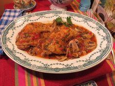 RECETTE Vidéo : Cuisses de Poulet «Marengo» en cocotte, à l'ancienne par la Mère Mitraille | Canal Gourmandises PARIS - Site Web-TV d'informations gastronomiques, grand public et professionnel