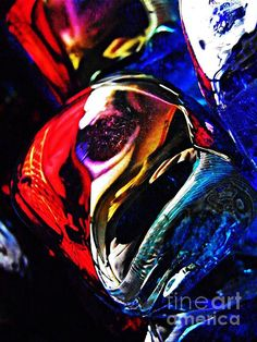 Glass Abstract 234 Photograph by Sarah Loft