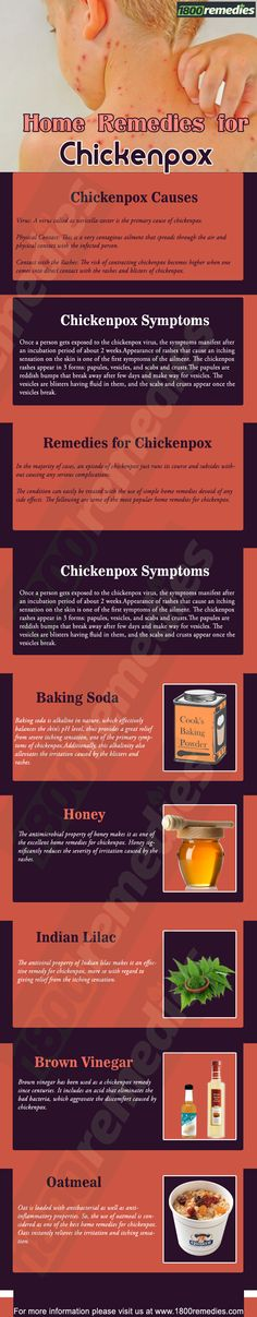 he condition can easily be treated with the use of simple home remedies devoid of any side effects. The following are some of the most popular home remedies for chickenpox.