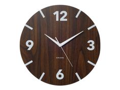 Wooden Wall Clock by Karlsson