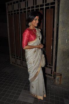 Soha Ali Khan's Wedding Reception - read more on the blog! Indian wedding - Indian celebrity wedding - Indian wedding guests - wedding fashion #thecrimsonbride