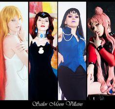 Sailor Moon Villians by l-Saya-l.deviantart.com on @deviantART
