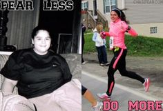 Look what a healthy diet and a weightloss pill do