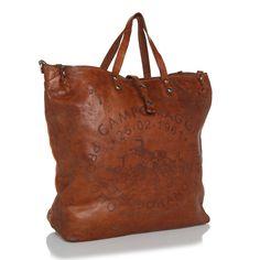 Campomaggi Shopping Bag Laser Teodorano Cognac Gutschein Umfrage chez Fashionette