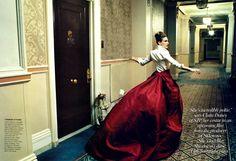 Sarah Jessica Parker. By Annie Leibovitz. Vogue 2005