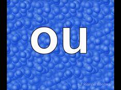 letters flitsen blauw