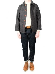 French workwear jacket by Le Laboureur