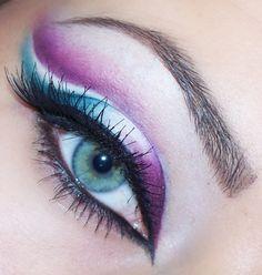 Two-colour makeup by Gosia-makeup on Makeup Geek