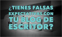 Al abrir un blog de escritor suele suceder que se generen falsas expectativas. Crees que el trabajo no será tanto y que los resultados serán inmediatos.