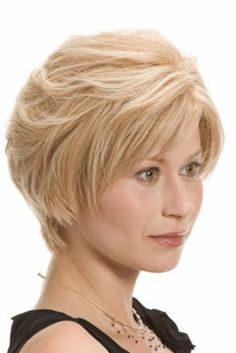 Short Human Hair By Wig Pro. Features Remy hair with a Mono Top in a petite size! This is the style you have been waiting for! Crown:4-41- 2