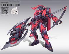 Robot Concept Art, Armor Concept, Weapon Concept Art, Robot Art, Techno, Cool Robots, Custom Gundam, Character Modeling, Suit Of Armor
