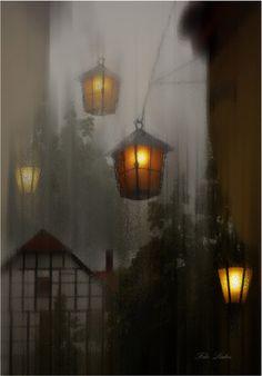 Inside looking out during a beautiful storm. Любовь Селиванова - Magic light