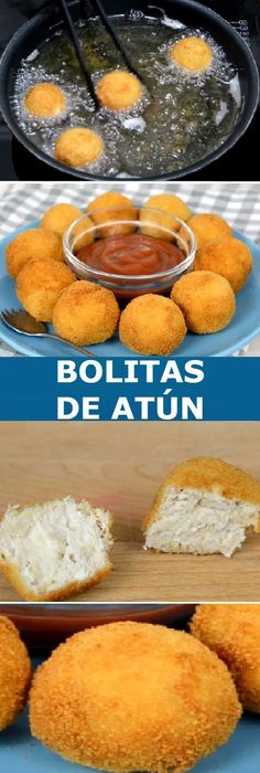 Make some Tuna Balls with cheese Easy, fast and delicious! Fish Recipes, Seafood Recipes, Cooking Time, Cooking Recipes, Hispanic Dishes, Deli Food, Good Food, Yummy Food, Seafood Dishes