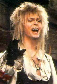 "David Bowie as Jareth the Goblin King aka heart throb in ""Labyrinth""!"