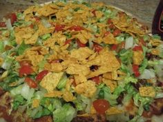 Happy Joe's taco pizza recipe! This makes me so happy! When I am in Iowa I will eat this until my stomach hurts, and then I will have one more piece.