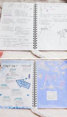 Bullet journal walkthrough 2.0 - layouts and topic ideas
