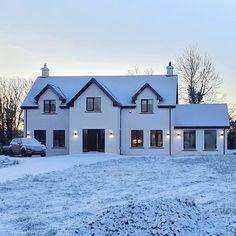 3d House Plans, Dream House Plans, Future House, My House, House Designs Ireland, Build Your Own House, Dog Houses, Farmhouse Design, New Builds