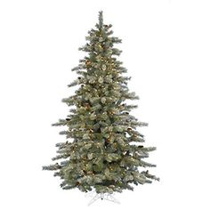 6.5 ft. x 48 in. – Frosted Sartell – 1030 Classic PVC Tips – 450 Clear Mini Lights – Artificial Christmas Tree – Vickerman A111466  http://www.fivedollarmarket.com/6-5-ft-x-48-in-frosted-sartell-1030-classic-pvc-tips-450-clear-mini-lights-artificial-christmas-tree-vickerman-a111466/
