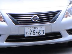 Japanese Domestic Market Number Plate Protectors