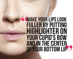how to make your lips look bigger using makeup