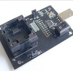 http://www.obd2cartool.com/emmc100-test-socket-adapter-emmc-to-usb-test-programmer-adapter-p-781 eMMC100 Test Socket Adapter eMMC to USB test programmer adapter
