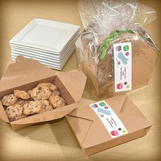 Cookie Time Gourmet to Go Kit is a great way to package your homemade cookies for your friends and family