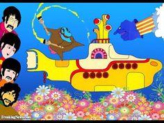 Submarino Amarelo Dublado HD desenhos animados em portugues completos