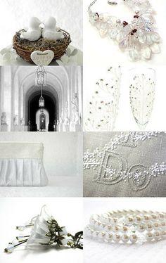 a winter wedding by http://www.etsy.com/shop/Thebracelettree